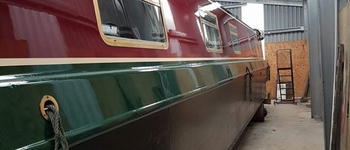 Painting boats hesford marine lymm
